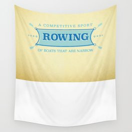 A Competitive Sport. Wall Tapestry