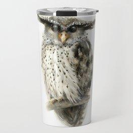 Forest Eagle Owl Travel Mug