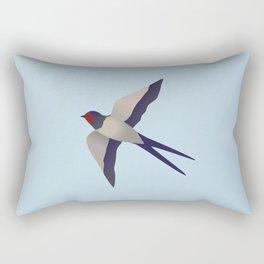 Farmers swallow Rectangular Pillow