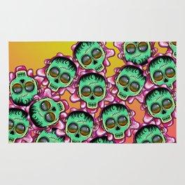 Cute Skulls Franky Rug