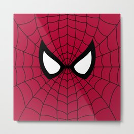 Spider man superhero Metal Print