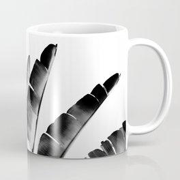 Traveler palm - bw Coffee Mug