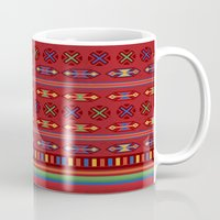 mexican Mugs featuring Mexican Mood by rusanovska