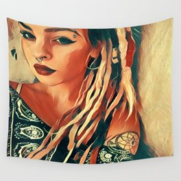 Dreads Wall Tapestry