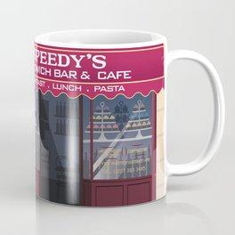 Sherlock in Baker Street Coffee Mug
