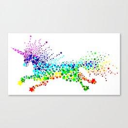 Unicorn - Licorne - Unicornio - Einhorn 02 Canvas Print
