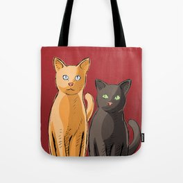 Roommate Cats Tote Bag