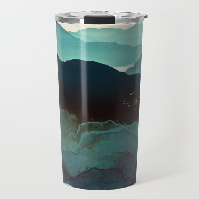 Indigo Mountains Travel Mug