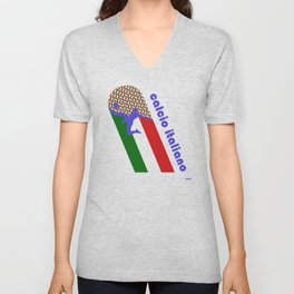 Calcio Italiano Unisex V-Neck