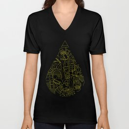 A little drop of life Unisex V-Neck