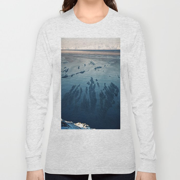 Ilulissat Greenland: The land of dog sleds and Midnight Sun Long Sleeve T-shirt