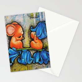 Bluebell Mice Stationery Cards