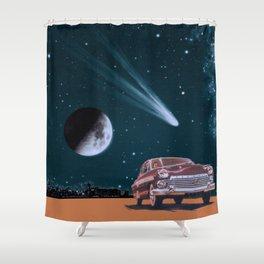 Afraid of Everyone Shower Curtain