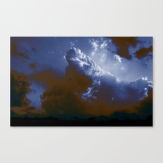 clouderton Canvas Print