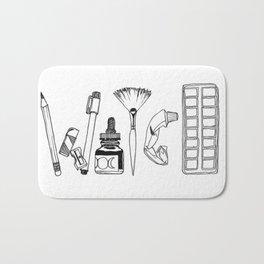 Art Tools of the Craft Bath Mat