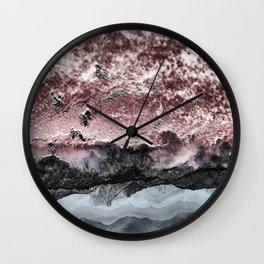 Surreal landscape Wall Clock