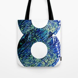Vinyl abstract Tote Bag