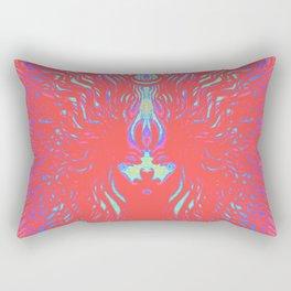 The Red Mirage Rectangular Pillow