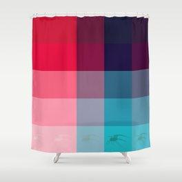 Spyder Shower Curtain