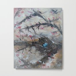 Robins Nest Metal Print