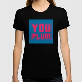 You Plum Migraine Colours T-shirt