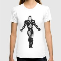ironman T-shirts featuring Ironman by Bailey D