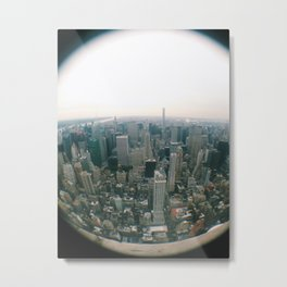 NYC Through a Lens Metal Print
