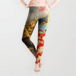 Big Red&Bananas Leggings