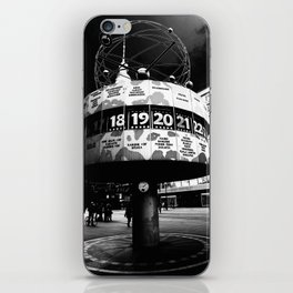 Alexanderplatz art iPhone Skin