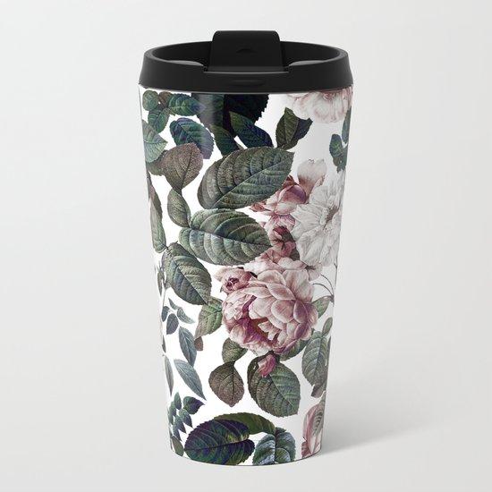 Vintage garden Metal Travel Mug
