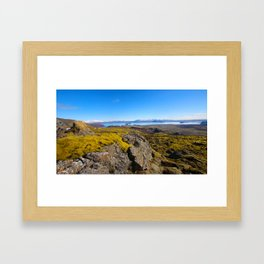 Land of Fire and Ice 2 Framed Art Print