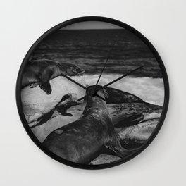 Water Puppies Wall Clock