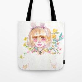 Harajuku Flowers Tote Bag