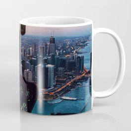Chopping Over Chicago City Coffee Mug