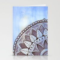 zentangle Stationery Cards featuring Zentangle by Nathanee.