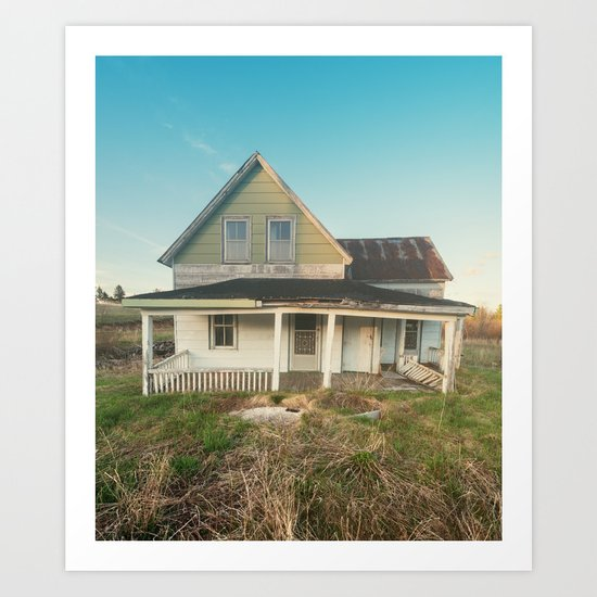 Sagging Front Porch  Art Print