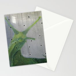 A slug in the city Stationery Cards