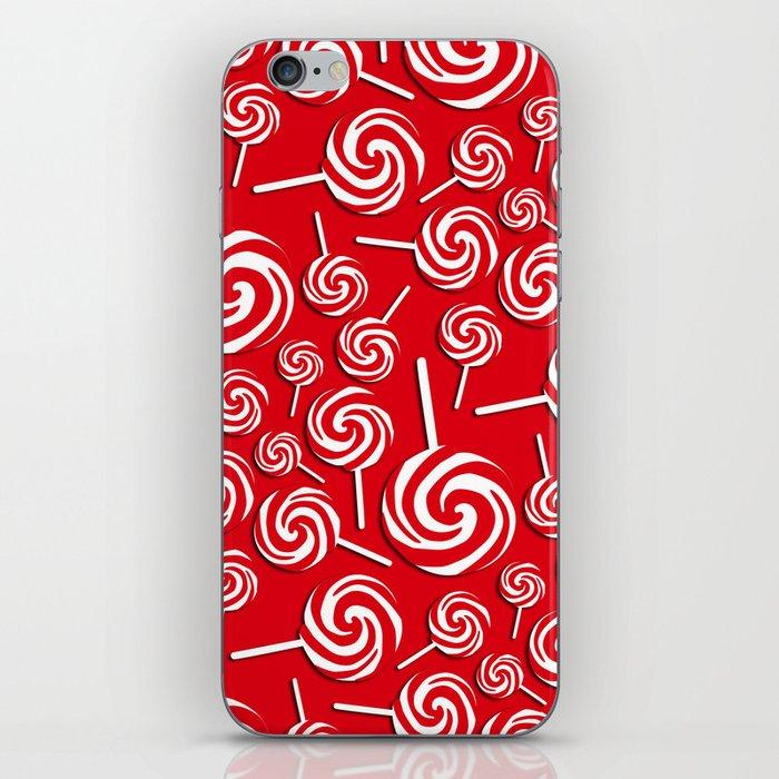 Candy Swirls-Large iPhone Skin
