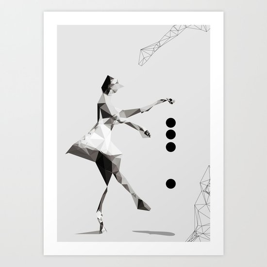 The tourist  Art Print