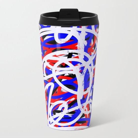 Spaghetti Metal Travel Mug