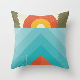 Niangua River Throw Pillow