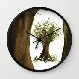 The Fortune Tree #2 Wall Clock