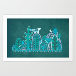 In Forest Art Print