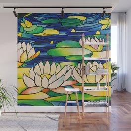 River of Lotus Blossoms Wall Mural