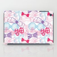 bows iPad Cases featuring Bows by Wendy Ding: Illustration
