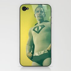 super obama iPhone & iPod Skin