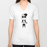 odd future V-neck T-shirts featuring Odd Future - OFWGKTA - Mascot by NewWorldOrphans