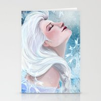 elsa Stationery Cards featuring Elsa by Ines92
