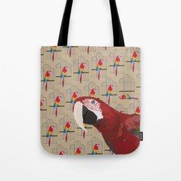 The Ara Parrot Gallery Giftshop Tote Bag