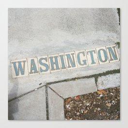 Washington St., New Orleans Canvas Print